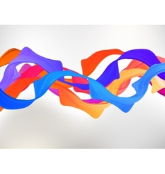 Abstract colored background with curves EPS 8 vector image