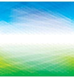 Abstract Green Blue Background vector image