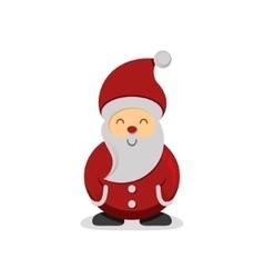 Cute cartoon-style Santa Claus vector image vector image