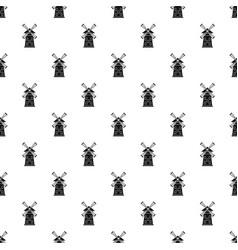 windmill pattern vector image