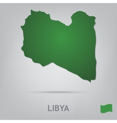 Country libya vector