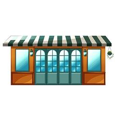 A cafe vector