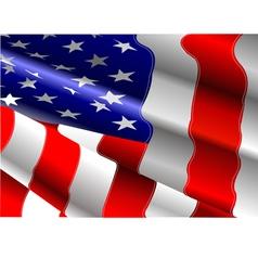 al 0702 american flag vector image