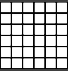 retro memphis pattern - seamless background vector image
