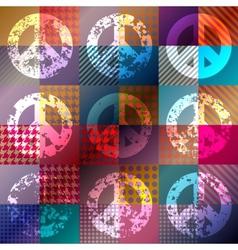 Paicfic hippy symbol vector image