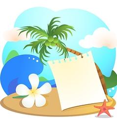 beach1 vector image