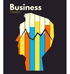 Business strategy vector