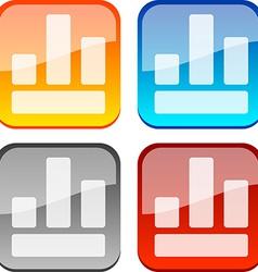 Diagram buttons vector