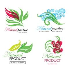 Flower logo 7 vector