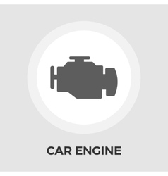 Engine flat icon vector