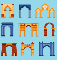 Arch construction vector