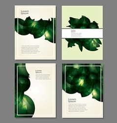 Buisness background templates vector