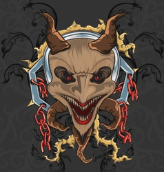 Devil theme vector