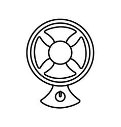 fan icon image vector image