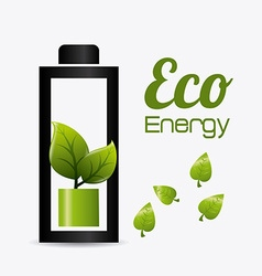 Go green design vector