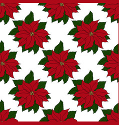 christmas and new year seamless pattern template vector image vector image
