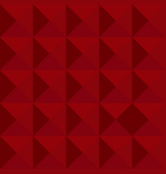red abstract geometric background vector image