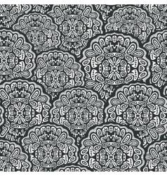 Seamless pattern of mandalas vector image