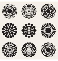 Decorative Mandala Ornaments vector image