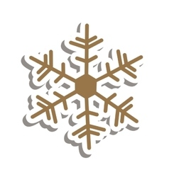 Snowflake creative icon image vector
