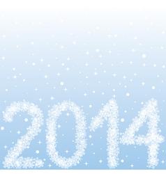 2014 year figures vector image vector image