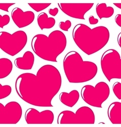 Heart love seamless pattern background vector