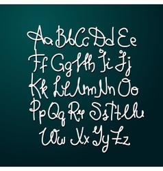Handmade brush script good lettering eps vector