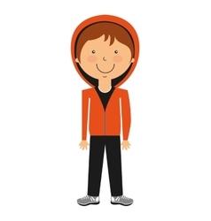 Boy avatar isolated icon design vector