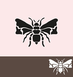 Bee symbol vector