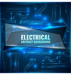 Electrical abstract background background vector