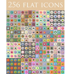 Flat icons 13 vector