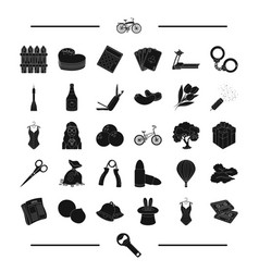 Pub food sport and other web icon in black style vector