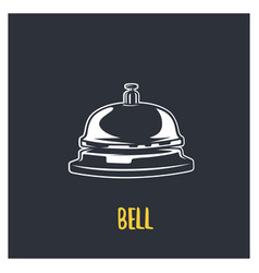Service bell vector