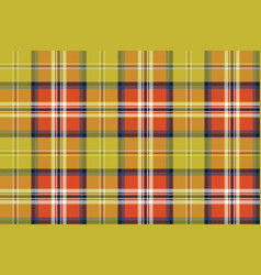 Abstract textile check plaid seamless pattern vector