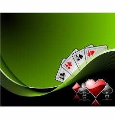 Casino elements vector
