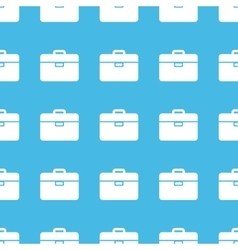 Briefcase straight pattern vector