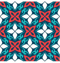 arabic ornamental ceramic tile vector image