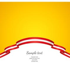 flag background Austria vector image vector image