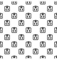 Floor scales pattern simple style vector image