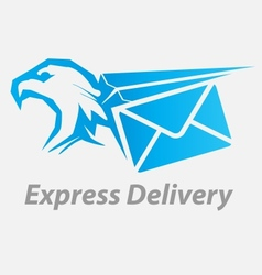 Express fast delivery icon vector