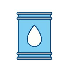 Petroleum barrel fuel vector