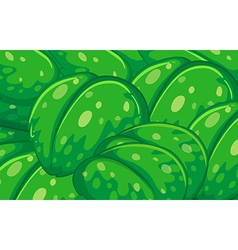 A group of big leaves vector