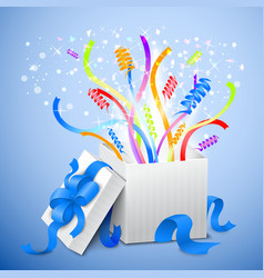 Birthday gift package vector