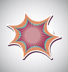 comic design vector image
