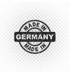 Made in germany stamp on isolated background vector