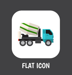 of automobile symbol on vector image