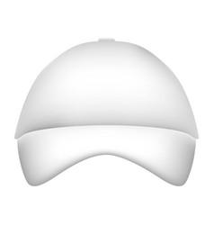 Promotional souvenir baseball cap identity vector