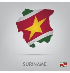 Suriname vector