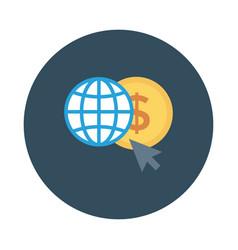 worldcurrency vector image vector image