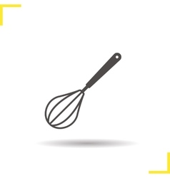 Whisk icon vector image